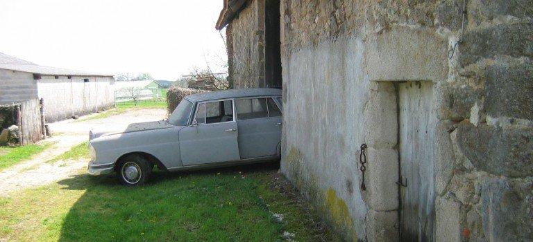 Scheunenfund – Mercedes Benz 220b