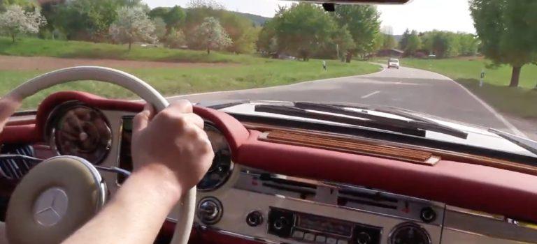 Probefahrt – 230 SL Pagode