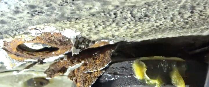 Mercedes-Benz W124 / S124 Unterbodenversiegelung – gut meinen ist nicht gut tun