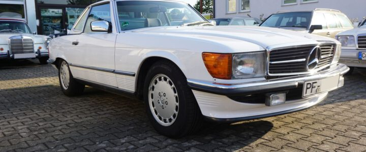 Mercedes-Benz 300SL R107 – VERKAUFT –